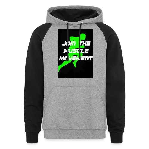 muscle movement - Colorblock Hoodie
