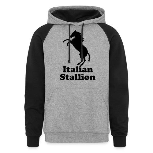 Italian Stallion - Colorblock Hoodie