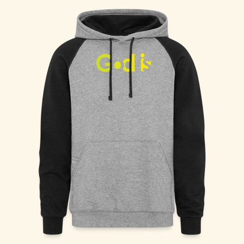 GOD IS #7 - Colorblock Hoodie