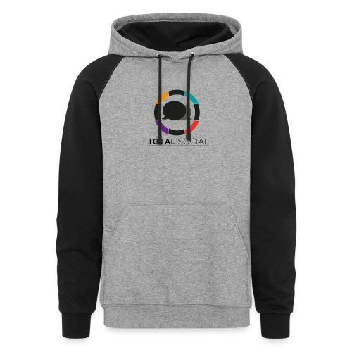 Logo_Total_Social_PNG_03 - Colorblock Hoodie