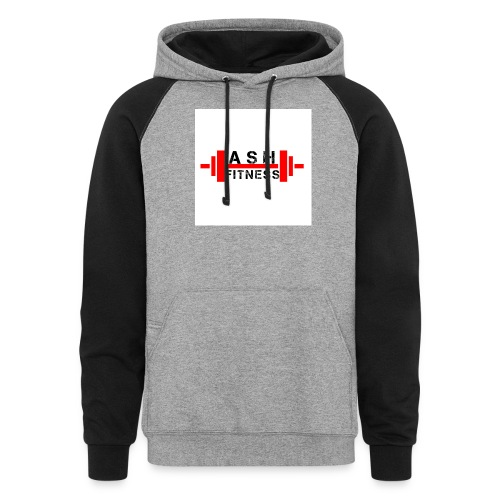 ASH FITNESS MUSCLE ACCESSORIES - Colorblock Hoodie