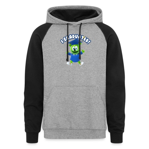 I Graduated! Gummibar (The Gummy Bear) - Colorblock Hoodie