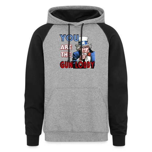 YOU Are The Gun Lobby - Unisex Colorblock Hoodie