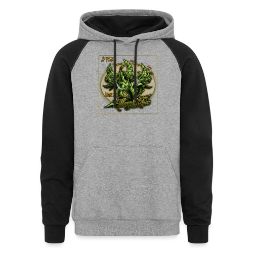 See No Bud by RollinLow - Colorblock Hoodie