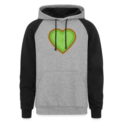 Fruit Love - Unisex Colorblock Hoodie
