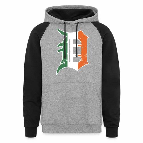 IRISH D - Unisex Colorblock Hoodie