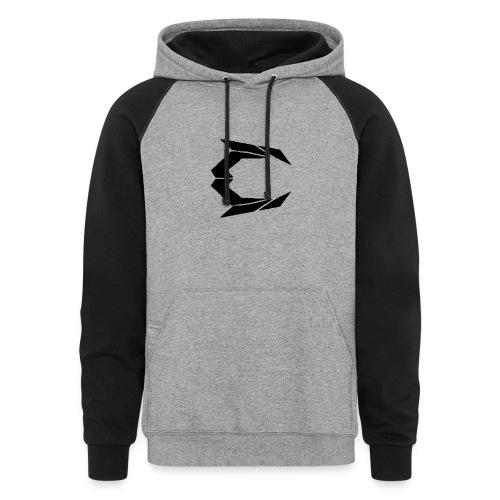 black png - Colorblock Hoodie