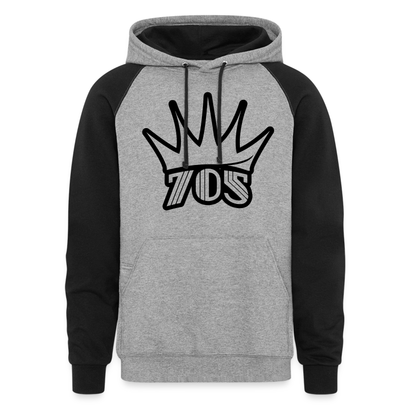 Crown 705 - Unisex Colorblock Hoodie
