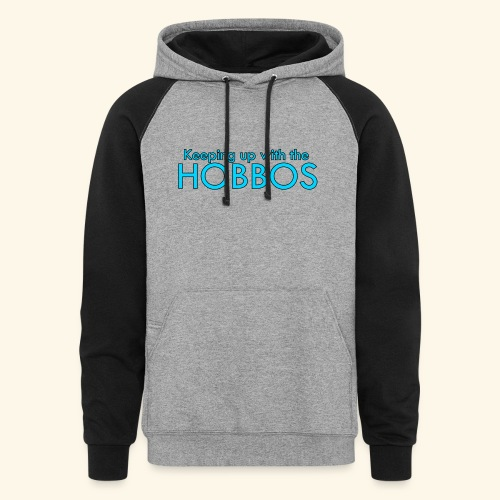 KEEPING UP WITH THE HOBBOS | OFFICIAL DESIGN - Colorblock Hoodie