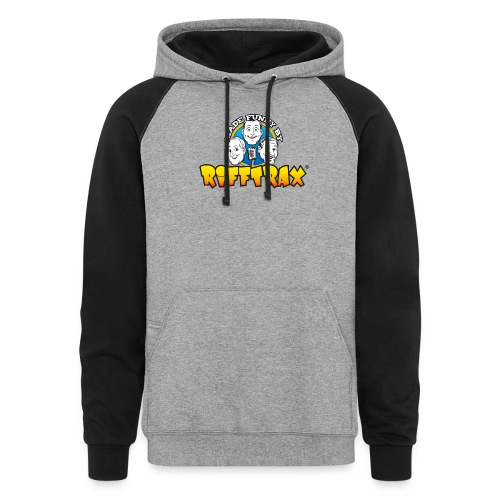 RiffTrax Made Funny By Shirt - Unisex Colorblock Hoodie