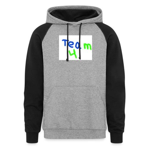 logo - Colorblock Hoodie