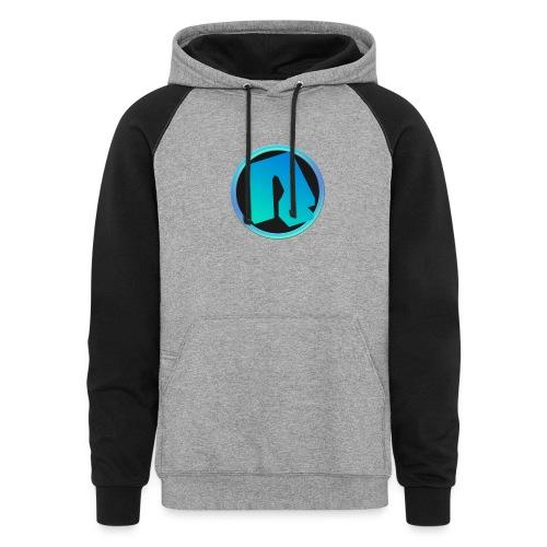 Channel Logo - qppqrently Main Merch - Colorblock Hoodie