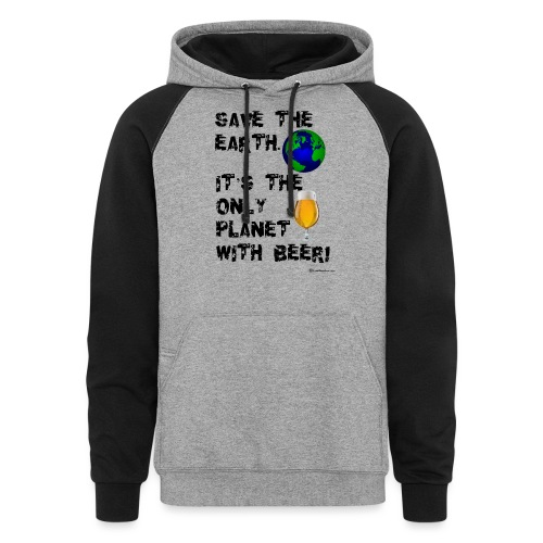 Save The Earth - Colorblock Hoodie