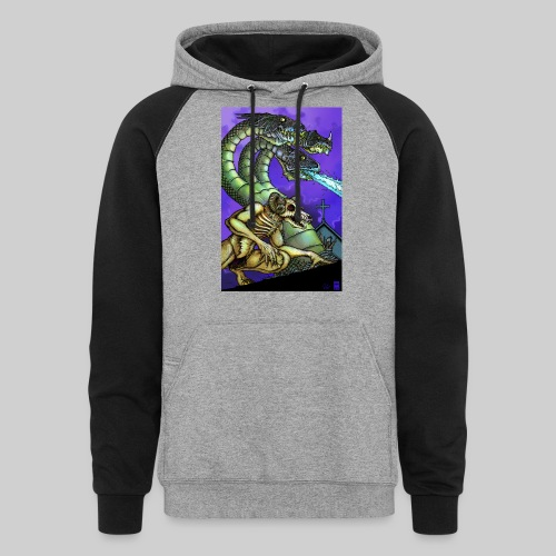 Hydra and Demon - Colorblock Hoodie