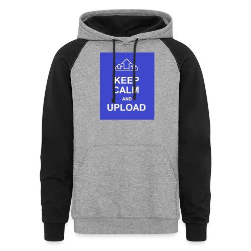 RockoWear Keep Calm - Colorblock Hoodie