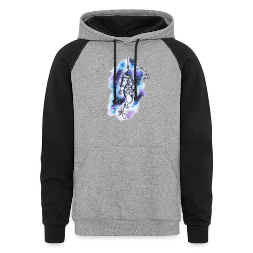 Get Me Out Of This World - Colorblock Hoodie