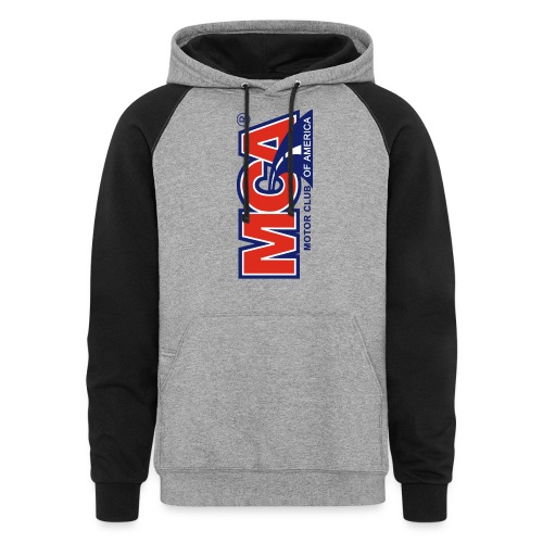 MCA Logo Iphone png - Colorblock Hoodie