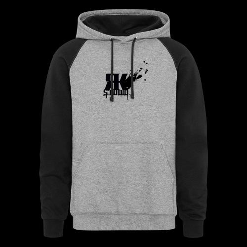 RKStudio Black Version - Colorblock Hoodie