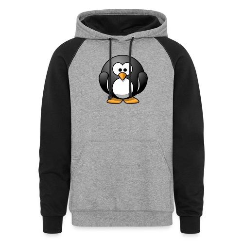 Funny Penguin T-Shirt - Colorblock Hoodie