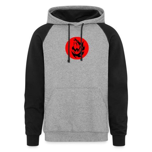 Wolf Logo - Colorblock Hoodie