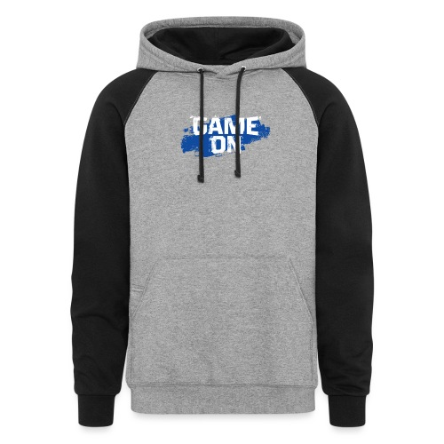 game on - Colorblock Hoodie