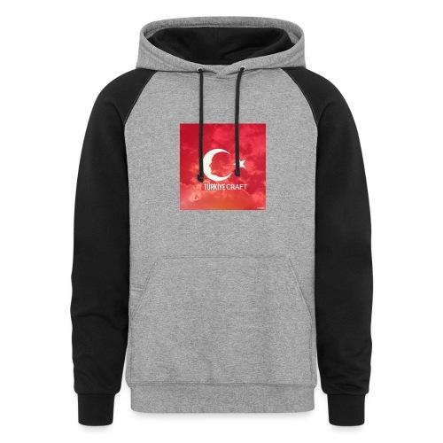 TurkiyeCraft - Colorblock Hoodie