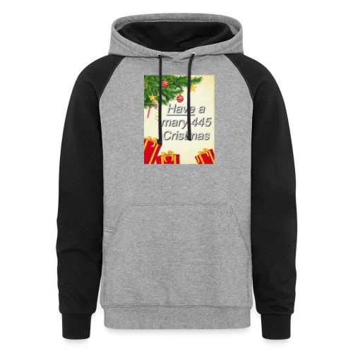 Have a Mary 445 Christmas - Colorblock Hoodie