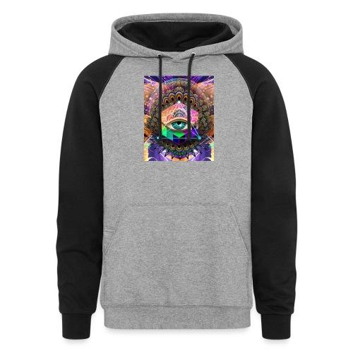 ruth bear - Colorblock Hoodie