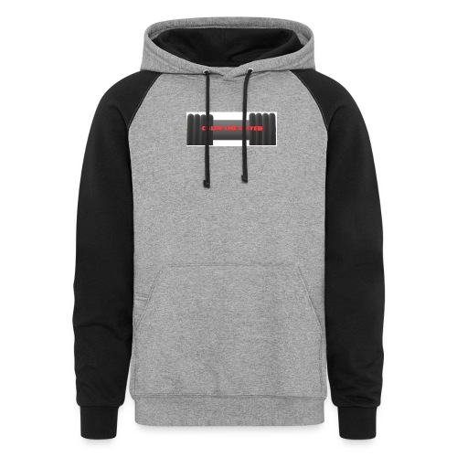 colin the lifter - Colorblock Hoodie