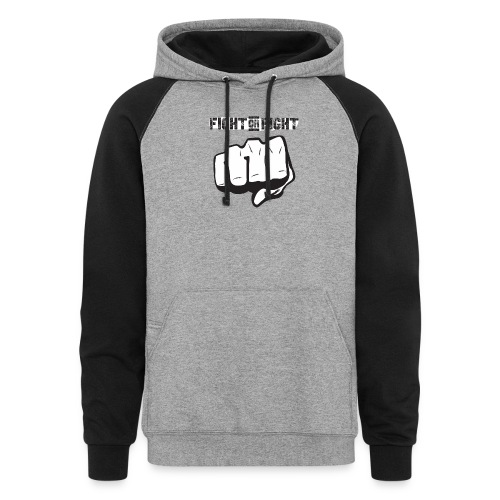Fight or Fight - Colorblock Hoodie