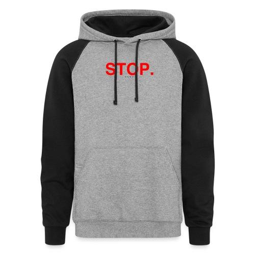stop - Colorblock Hoodie