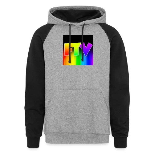 Other Rainbow Option - Colorblock Hoodie