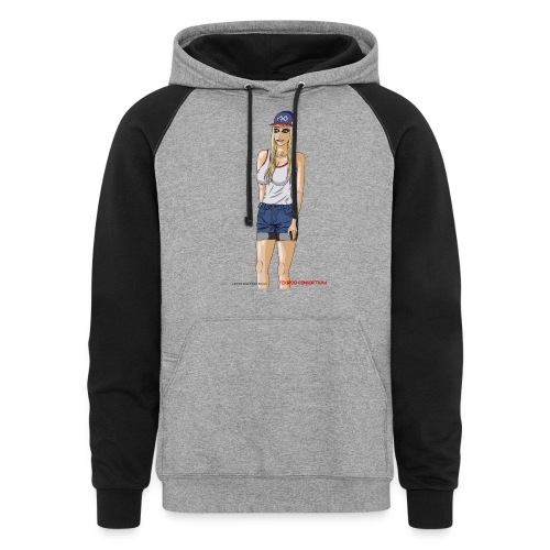 Gina Character Design - Colorblock Hoodie