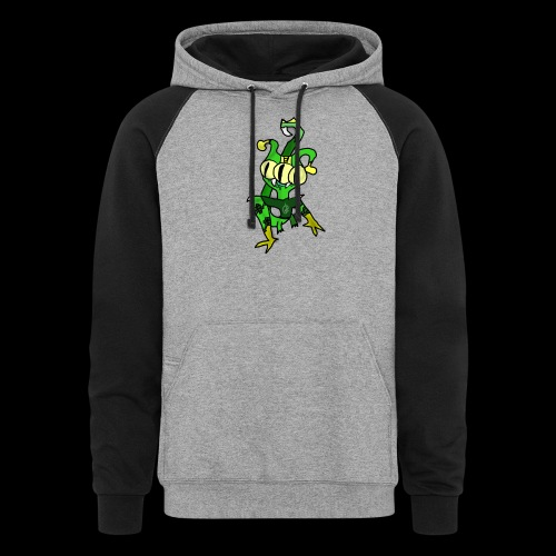 Three-Eyed Alien - Colorblock Hoodie
