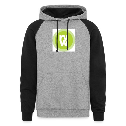 Recover Your Warrior Merch! Walk the talk! - Colorblock Hoodie