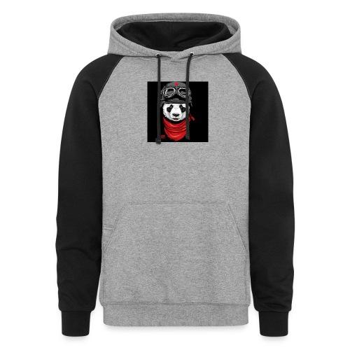 Panda - Colorblock Hoodie