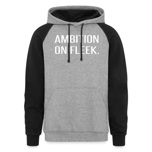 Ambition on FLEEK - Colorblock Hoodie