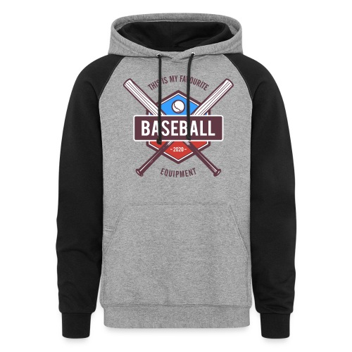 baseball - Unisex Colorblock Hoodie