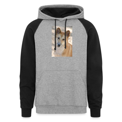 My youtube page - Unisex Colorblock Hoodie