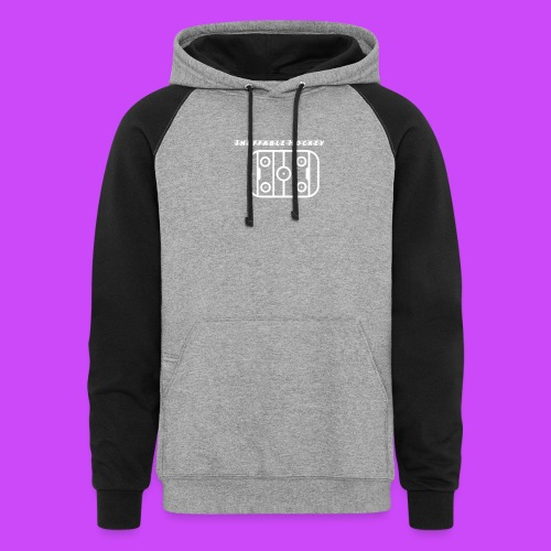 Ineffable Hockey Hoodies 3 - Unisex Colorblock Hoodie