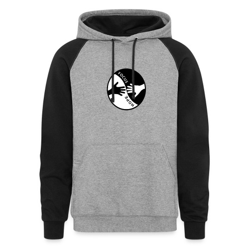 Focus: HOPE Circle - Unisex Colorblock Hoodie