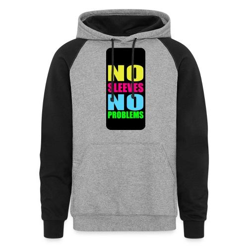 neonnosleevesiphone5 - Unisex Colorblock Hoodie