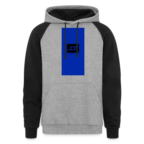 blacks i5 - Colorblock Hoodie