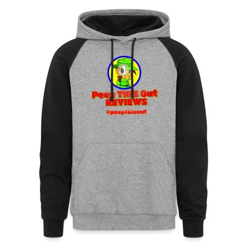 Peep_Logo_High_Res - Colorblock Hoodie