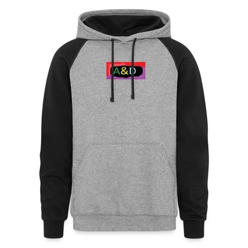 A&D hoodies - Unisex Colorblock Hoodie