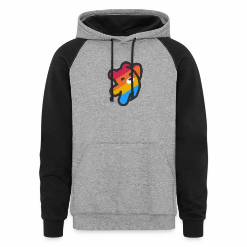fire as life - Unisex Colorblock Hoodie