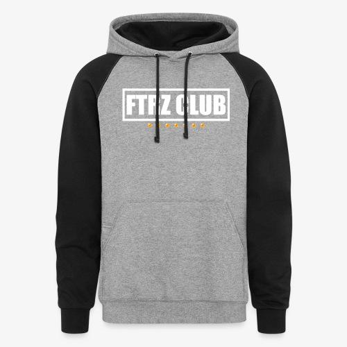 Ftrz Club Box Logo - Colorblock Hoodie