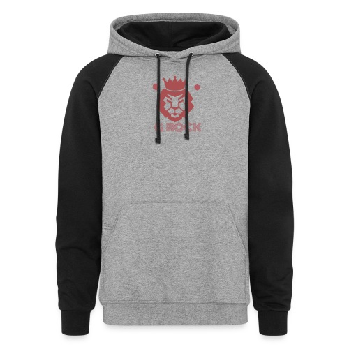 lion faced - Colorblock Hoodie
