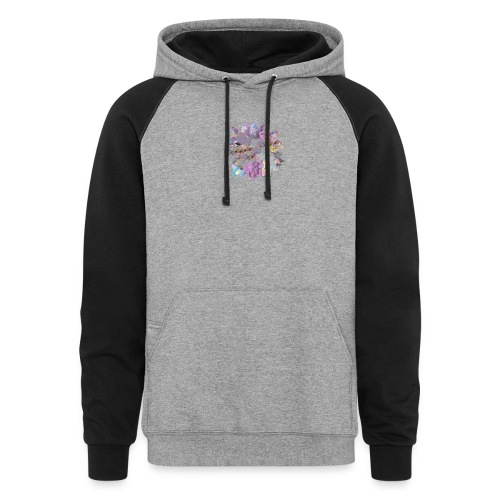 CrystalMerch - Colorblock Hoodie