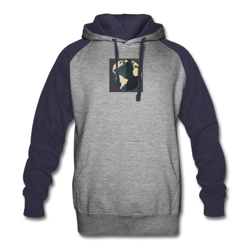 The world as one - Colorblock Hoodie